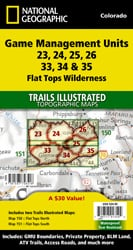 Flat Tops Wilderness GMU [Map Pack Bundle]