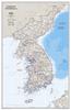 Korean Peninsula Classic [Laminated]