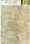 Boulder, Golden trail map full page