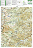 Indian Peaks, Gold Hill trail map full page