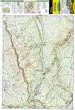Poudre River, Cameron Pass trail map full page