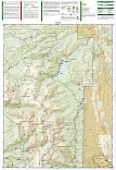 Hahns Peak, Steamboat Lake trail map full page