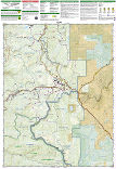 Steamboat Springs, Rabbit Ears Pass trail map full page