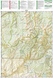 Gunnison, Pitkin trail map full page