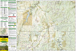 Deckers, Rampart Range trail map full page