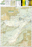 Grand Mesa trail map full page