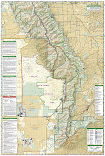 Sangre De Cristo Mountains trail map full page