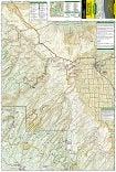 Uncompahgre Plateau North trail map full page