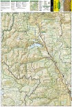Collegiate Peaks Wilderness Area trail map full page
