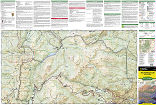 Rocky Mountain National Park trail map full page