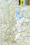 Grand Teton National Park trail map full page