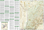 Guadalupe Mountains National Park trail map full page