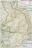 Sequoia and Kings Canyon trail map full page