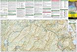 Yosemite NP trail map full page