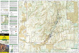 Zion National Park trail map full page