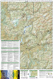 North Cascades National Park trail map full page