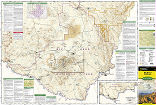 Big Bend National Park trail map full page
