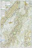 Shenandoah National Park trail map full page