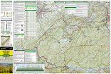 Great Smoky Mountains National Park trail map full page