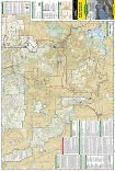 Black Hills South trail map full page