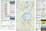 Crater Lake National Park trail map full page