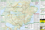 Katmai National Park and Preserve trail map full page