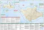 Channel Islands National park trail map full page