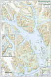 Glacier Bay National Park and Preserve trail map full page