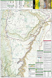 Grand Canyon East trail map full page