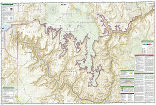 Grand Canyon West trail map full page