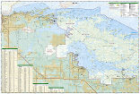 Voyageurs National Park trail map full page