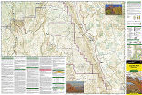 Capitol Reef National Park trail map full page