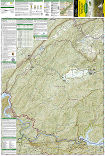 Cades Cove, Elkmont trail map full page