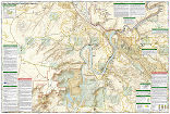 Moab South trail map full page