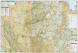 Logan, Bear River Range trail map full page