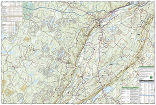 Delaware Water Gap National Recreation Area trail map full page