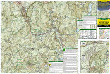 White Mountain National Forest East trail map full page