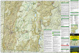 Green Mountain National Forest South trail map full page