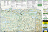 Boundary Waters East trail map full page