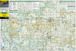 Huron National Forest trail map full page