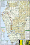 Manistee South trail map full page