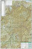 Nantahala and Cullasaja Gorges trail map full page