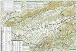 Mount Rogers National Recreation Area trail map full page