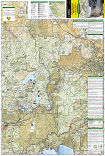 Tahoe National Forest East trail map full page