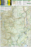 Bend, Three Sisters trail map full page
