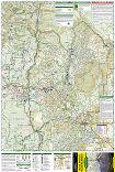 Mount Jefferson, Mount Washington trail map full page