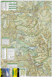 Mount Baker and Boulder River Wilderness Areas trail map full page