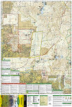 Superstition and Four Peaks Wilderness Areas trail map full page