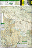 Apache Creek, Juniper Mesa trail map full page